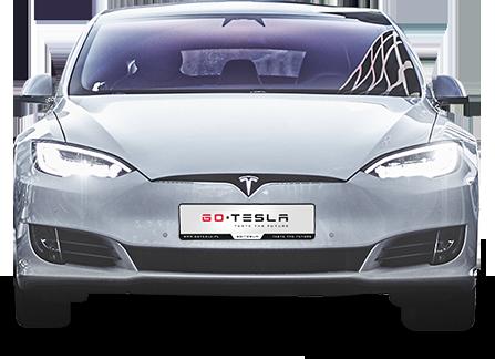 Tesla S - przód
