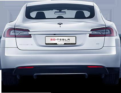 Tesla S - tył