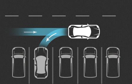 Tesla S - Inteligentny system parkowania