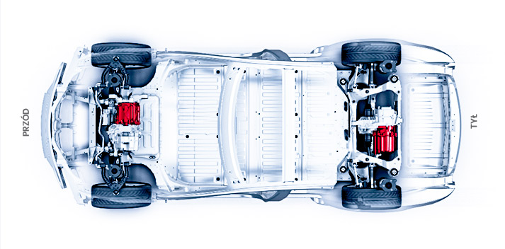 Tesla S - dual motor