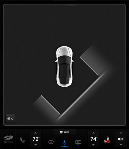 Tesla X - Auto Park