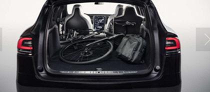 Tesla x - Bagażnik o pojemności 2000 L